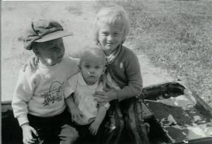 3kidsOctober1963