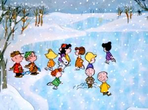 Charlie Brown Christmas Skaters