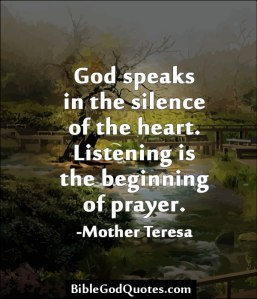 Silence mother t